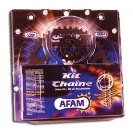 Kit chaine AFAM BETA 50 RR / FACTORY 4 FIXATIONS 2012-2013